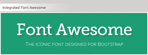 Font Awesome Support